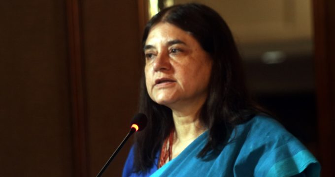 Maneka seeks removal of vet over black magic tricks on elephant