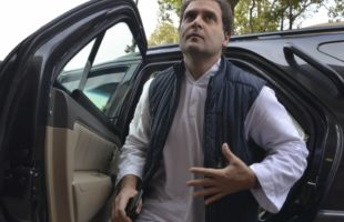 Rahul Gandhi has lunch at south Indian restaurant