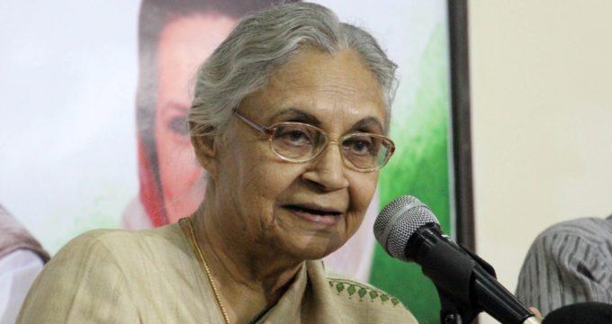 Sheila Dikshit new Delhi Congress chief