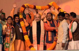 Shah equates BJD govt with 'burnt transformer'
