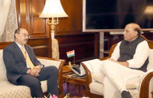 Pulwama attack: Indian envoys to Pakistan, US meet Rajnath