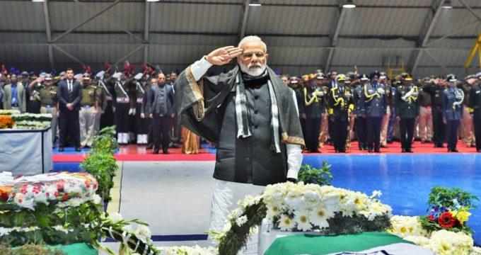 PM, Rahul pay homage to slain CRPF troopers
