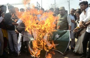 Curfew in Jammu as protests turn violent