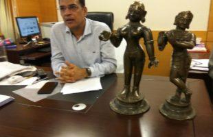 Idol smuggling racket busted in Bhubaneswar