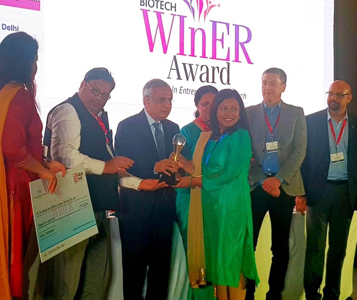 Odisha woman startup entrepreneur bags TiE-BIRAC award for winnovation