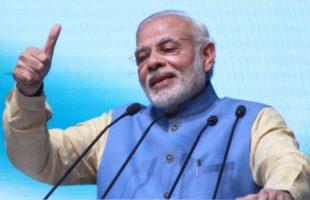 BJP rejigs poll tagline to 'Modi hai to mumkin hai'