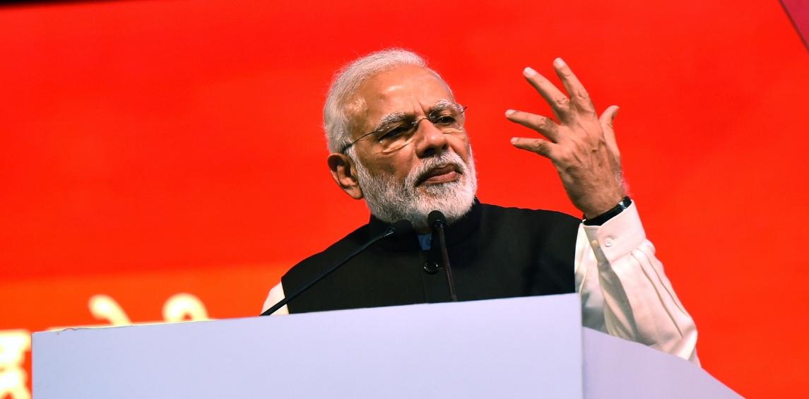 Congress manifesto is 'anti-national', says Modi
