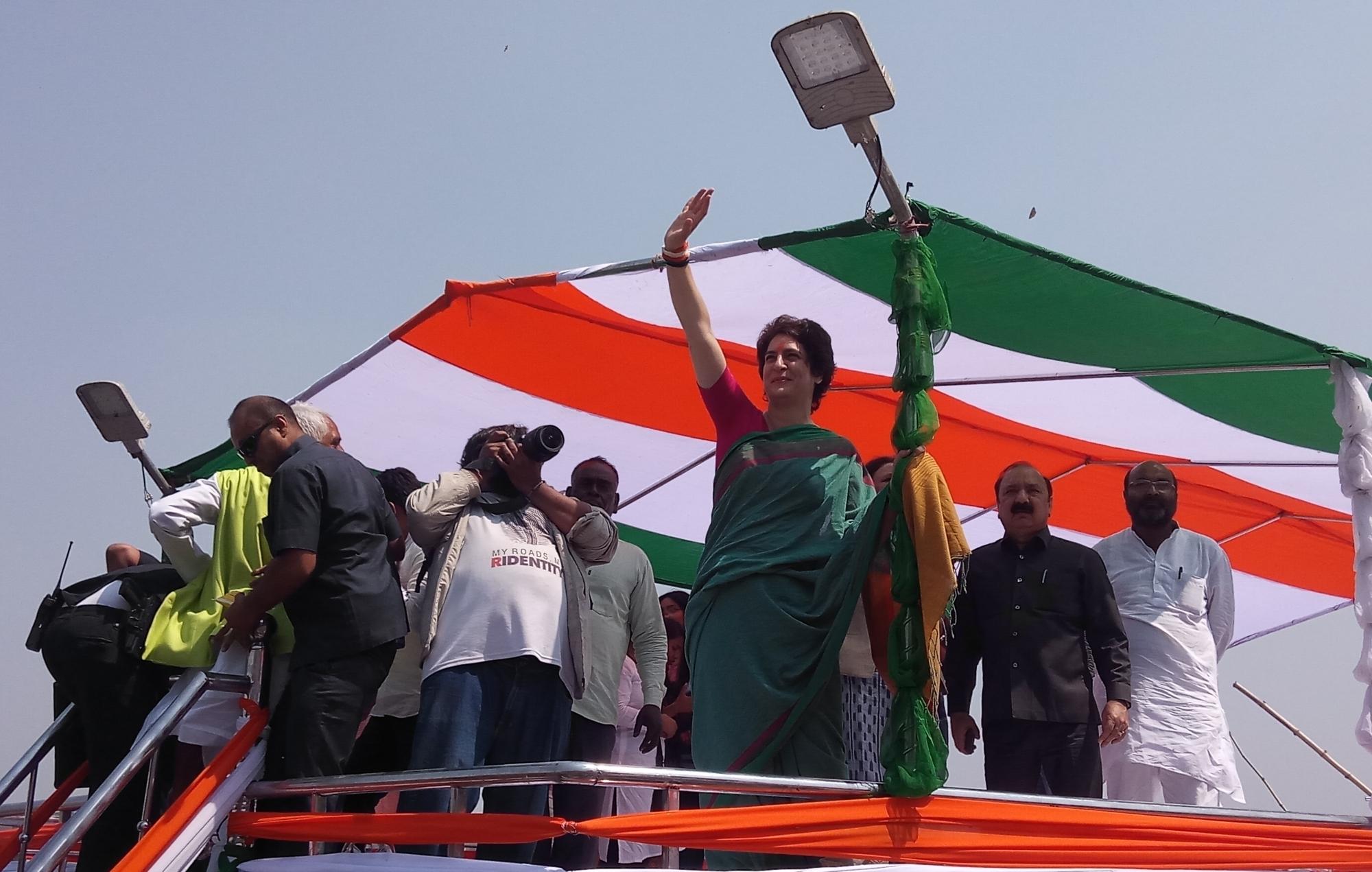 Chowkidars are for rich, Priyanka taunts Modi
