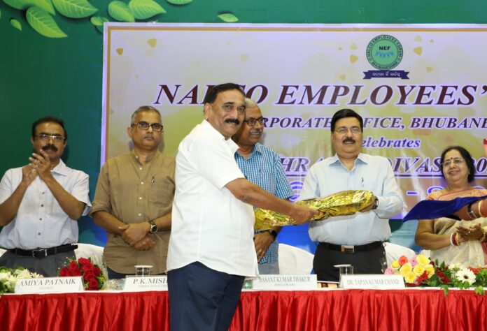From top to bottom, every employee at NALCO is a 'Shramik': Dr. T.K. Chand, CMD, NALCO
