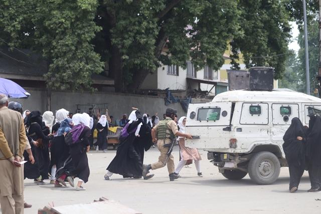 Protest against Bandipora rape