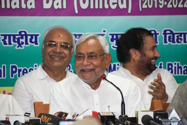 JD-U to go it alone in Assembly polls outside Bihar