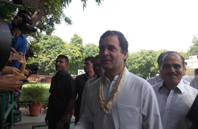 Rahul Gandhi turns 49, Modi extends wishes