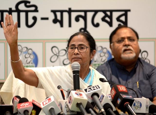 Mamata changes FB, Twitter DPs to 'Jai Hind, Jai Bangla'