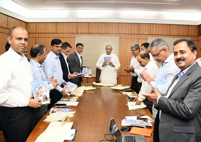 Document on trillion dollar economy for Odisha released