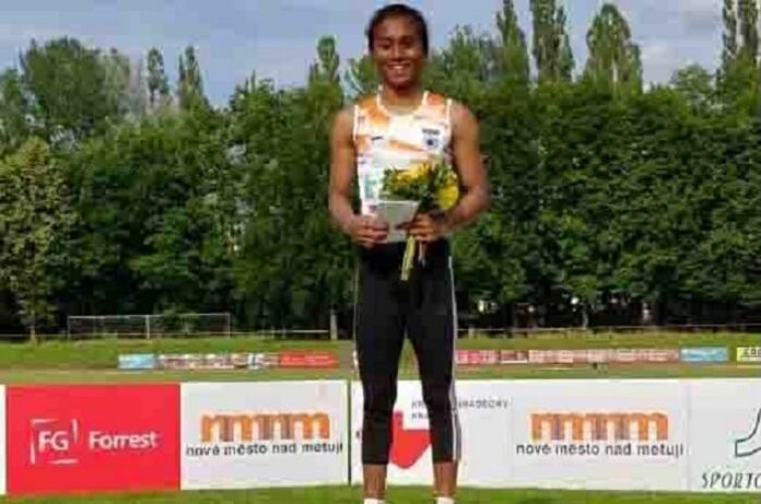 'Golden girl' Hima promises more medals for India