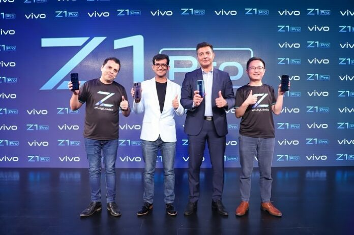 vivo Z1Pro with in-display selfie camera now in India