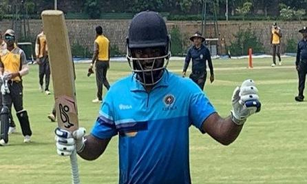 Sanju Samson becomes 6th Indian batsman to score double century in List-A match