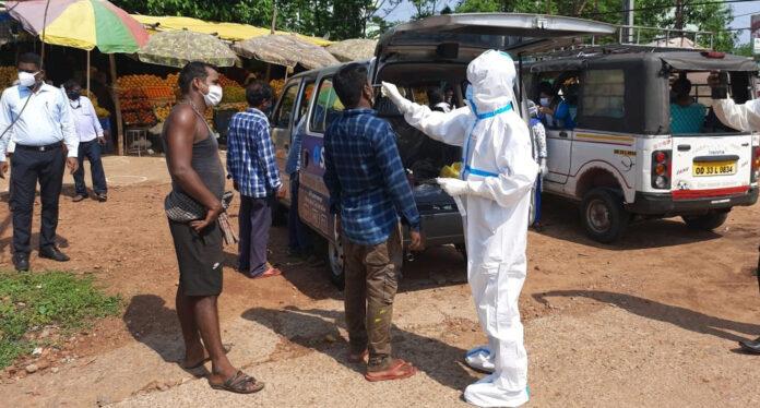 Odisha reports 1558 fresh Covid Positive Cases and 66 more death